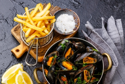 Opération Moules Frites solidaire